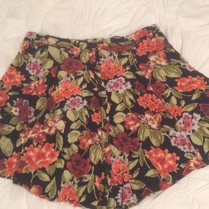 Urban Outfitters Floral Button Skirt